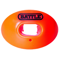 Battle Sports Oxygen Mouthguard - Adult - Orange / Black
