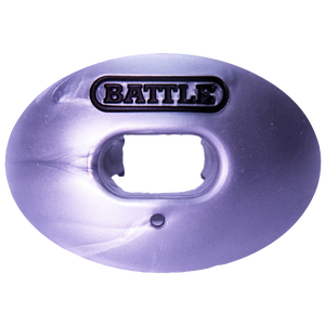 Battle Sports Oxygen Mouthguard - Adult - Silver/Black