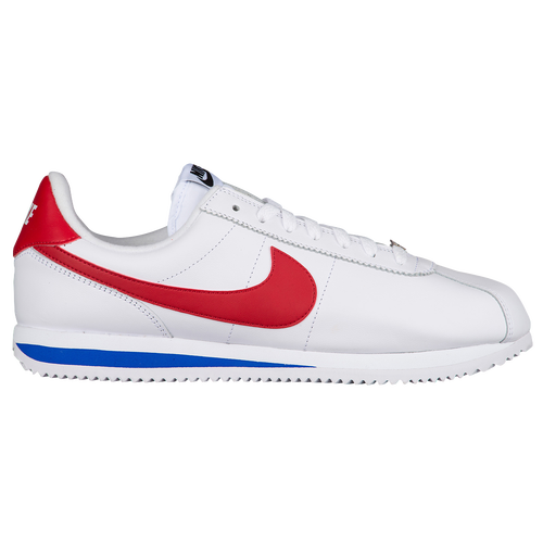 info for aabe1 5d692 Nike Cortez - Mens - Casual - Shoes - WhiteVarsity RoyalVarsity Red   Leather