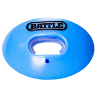 Battle Sports Oxygen Mouthguard - Adult - Light Blue / Black