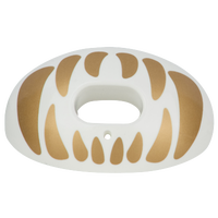 Battle Sports Oxygen Mouthguard - Adult - White / Gold