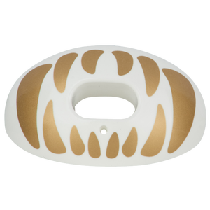Battle Sports Oxygen Mouthguard - Adult - White/Gold
