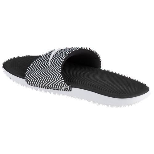 8f811a470 Nike Kawa Slide - Women s - Casual - Shoes - Black White