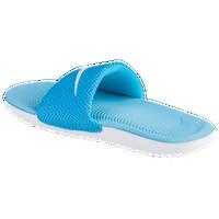 e0cd0a21b386 Nike Kawa Slide - Women s - Light Blue   White