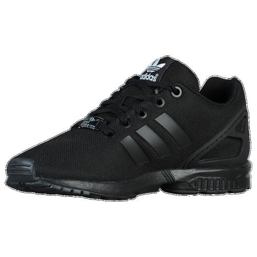 adidas Originals ZX Flux - Boys' Grade School - adidas Originals - Casual -  Black/Black/Gum