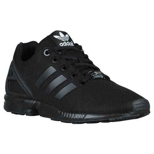 adidas Originals ZX Flux - Boys\u0027 Grade School - All Black / Black