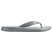 Nike Solay Thong  Womens Casual Shoes  Wolf GreyPure PlatinumWhite
