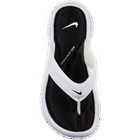2b3db270251856 Nike Ultra Comfort Thong - Women s - White   Black