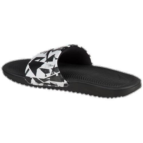 2ec7a0f46d92 Nike Kawa Slide - Men s - Casual - Shoes - Dark Grey White Black