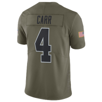 b95bb97a1d1 Nike NFL Salute To Service Limited Jersey - Men's - Derek Carr - Oakland  Raiders -
