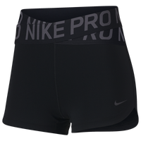 Nike Pro Intertwist 3 Inch Shorts - Women's - Black