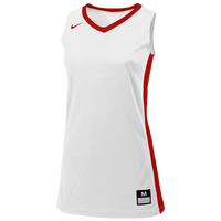 Nike Team Fastbreak Jersey - Girls' Grade School - White / Red