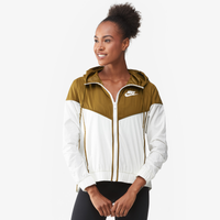 3a107d524287 Nike Windrunner Jacket - Women s - Off-White   Olive Green