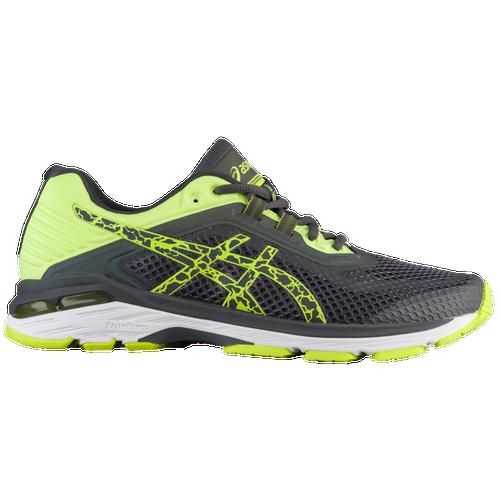 ASICS? GT-2000 V6 Lite Show - Men's Running Shoes - Dark Grey/Safety Yellow 8349595