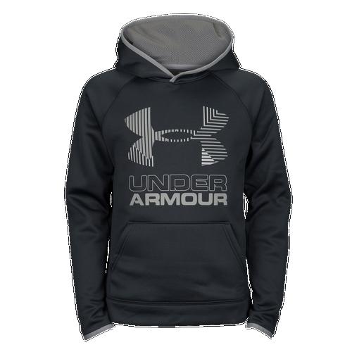 Under Armour Armour Fleece Big Logo Hoodie - Boys  Grade School ... 97d03ae5d584