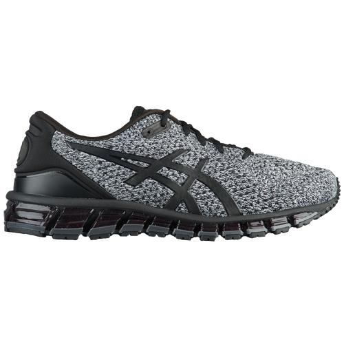 best sneakers 36897 f1d87 ASICS® GEL-Quantum 360 Knit - Men s - Running - Shoes - Black Classic  Red Stone Grey