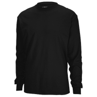 Gildan Team 50/50 Dry-Blend Long Sleeve T-Shirt - Men's - All Black / Black