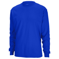 Gildan Team 50/50 Dry-Blend Long Sleeve T-Shirt - Men's - Blue / Blue