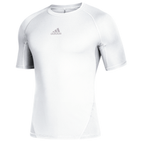 adidas Team Alphaskin Short Sleeve Top - Men's - White