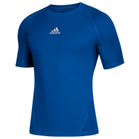 adidas Team Alphaskin Short Sleeve Top - Men's - Blue
