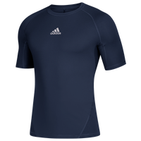 adidas Team Alphaskin Short Sleeve Top - Men's - Navy