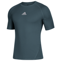 adidas Team Alphaskin Short Sleeve Top - Men's - Aqua