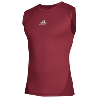 adidas Team Alphaskin Sleeveless Top - Men's - Cardinal