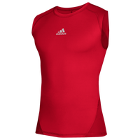 adidas Team Alphaskin Sleeveless Top - Men's - Red