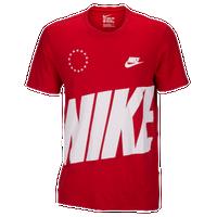 Nike Navyredsilver Casual Shirt Clothing Graphic T Men's rRrgAz