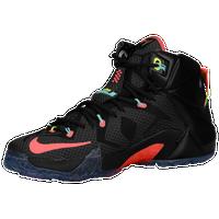 3ef17b233b4 Nike LeBron 12 - Men s - LeBron James - Black   Pink