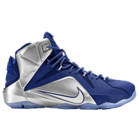 Nike LeBron 12 - Men\u0027s - LeBron James - Blue / Silver