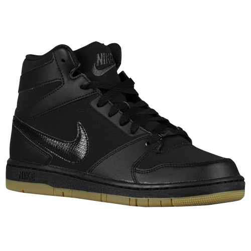 Nike Prestige IV High - Men s - Basketball - Shoes - Black Anthracite Gum  Light Brown f3b82a1a9