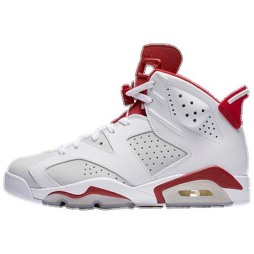 Jordan Retro 6 White And Red