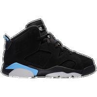 c7fb897f8ef1 Jordan Retro 6 - Boys  Preschool - Black   Light Blue