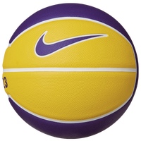 Nike Lebron Playground Basketball - Men's - Yellow / Purple