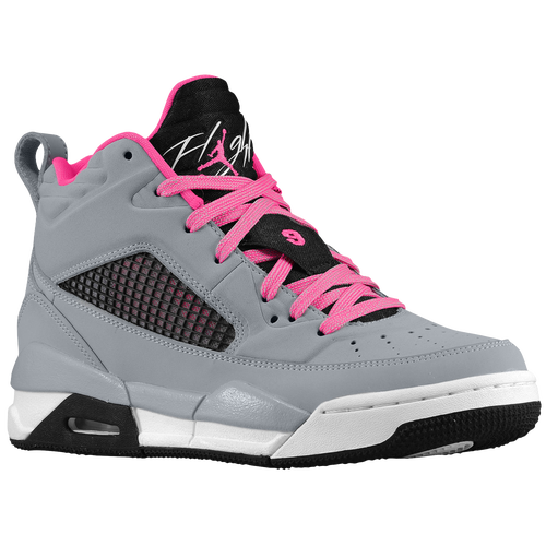 air jordan flight 9 pink and grey