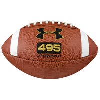 Under Armour Pee Wee Size Composite Football - Boys' Grade School - Brown / White