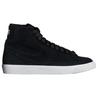 Nike Blazer Mid - Boys' Grade School - Black / White