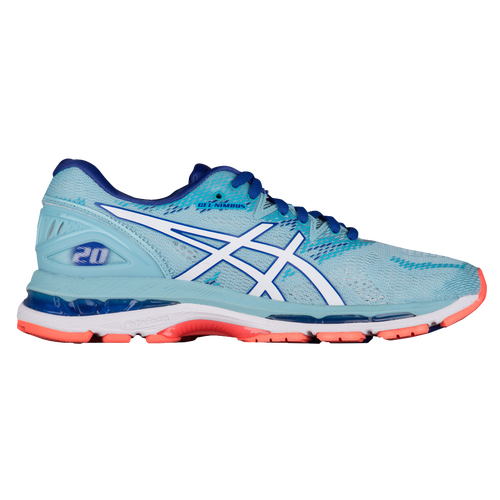 ASICS® GEL-Nimbus 20 - Women's - Running - Shoes - Porcelain Blue/White/Blue