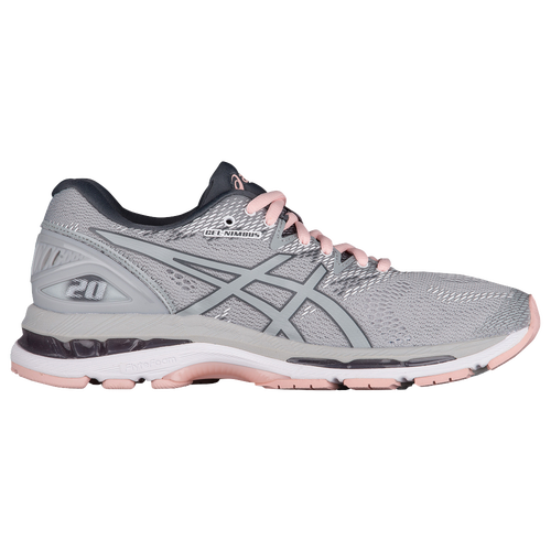 ASICS® GEL-Nimbus 20 - Women s - Running - Shoes - Mid Grey Mid  Grey Seashell Pink 6e4564471175