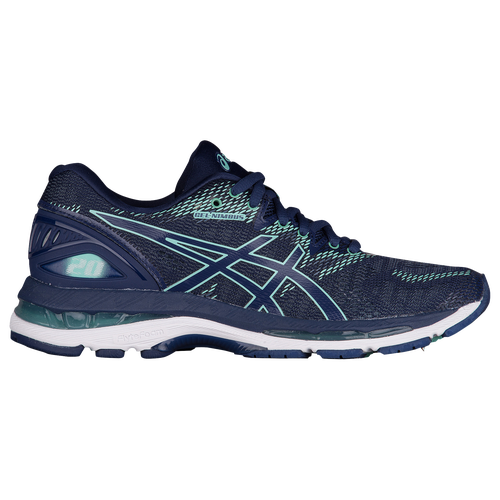 ASICS® GEL-Nimbus 20 - Women's - Navy / Light Green