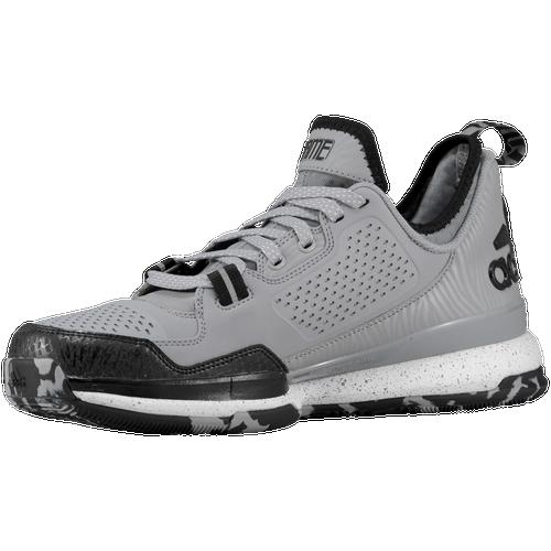 adidas D Lillard 1.0 - Men\u0027s - Damian Lillard - Grey / Black