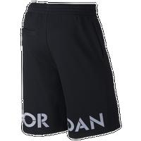 3731c7d602d Jordan Retro 5 Fleece Shorts - Men's - Black / Grey