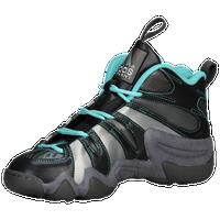 adidas Crazy 8 - Boys' Grade School - Grey / Light Blue