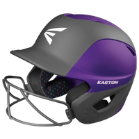 Easton Ghost Matte Fastpitch Batting Helmet W SB Mask - Women's - Purple / Black