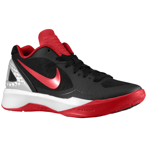 Nike Volley Zoom Hyperspike - Women's - Volleyball - Shoes - Black/Metallic  Silver/White/Gym Red