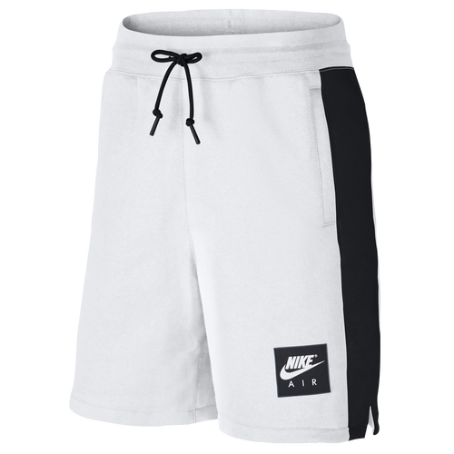 9163a666577 Nike Air Fleece Shorts - Men's - Casual - Clothing - White/Black