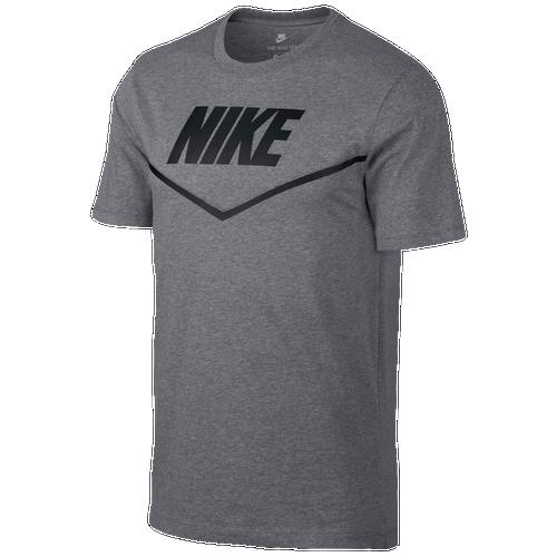 Nike Sport Blocked GX T-Shirt - Men's Casual - Carbon Heather/Black 8659091