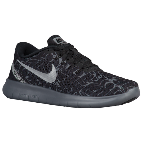 eff7dc044943d Nike Free RN - Women s - Running - Shoes - Black Reflective Silver ...