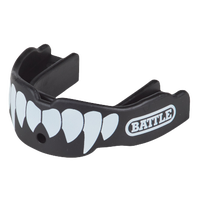 Battle Sports Fang 2-Pack - Adult - Black / White